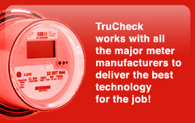TruCheck works with all the major meter manufacturers.